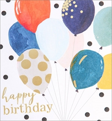 Balloons - Birthday Card Birthday