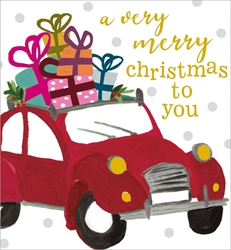 Car with Presents - Christmas Boxed Cards Christmas