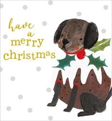 Dog with Holly ? Christmas Boxed Cards Christmas
