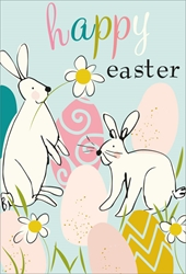 Bunnies - Easter Card