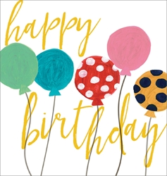 Balloons - Birthday Cards