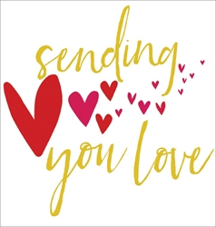 Sending You - Love Card