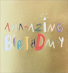 Amazing - Birthday Card Birthday