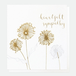 Allium - Sympathy Card