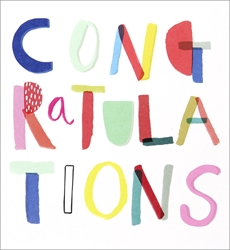 Text - Congratulations Card
