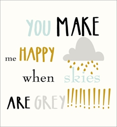 Make Me Happy - Friendship Card