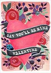 Be Mine - Valentines Day Card