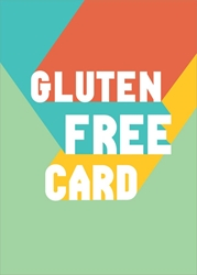 Gluten Free - Friendship Card