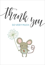 Mouse So Very Much - Thank you Cards