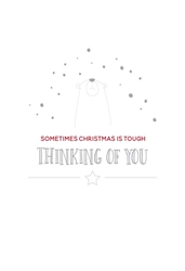 Thinking of You - Christmas Card Christmas
