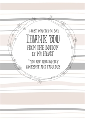 From Heart - Thank You Card