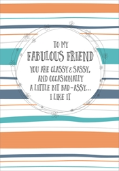 Fab - Friendship Card