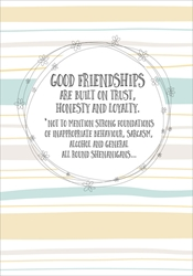 Good Friend - Friendship Card