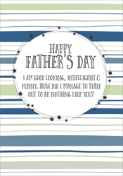Not Like You - Fathers Day Card