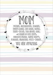 Amazing Mom - Mothers Day Card