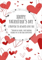 Snoring - Valentines Day Card