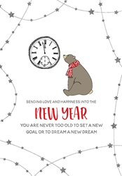 Dream - New Year Card Christmas