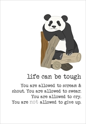 Life Tough - Friendship Card