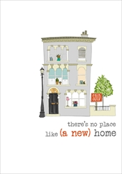 No Place Like - New Home Card