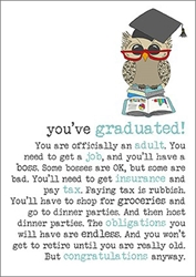 Adult - Graduation Card