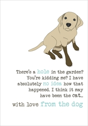 With Love From Dog - Friendship Card