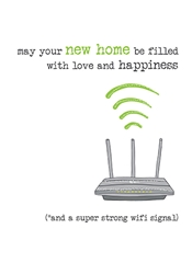 WiFi - New Home Card