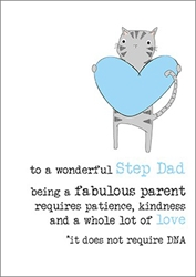 Step Dad - Fathers Day Card