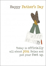 Relax - Fathers Day Card