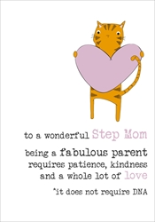 Step Mom - Mothers Day Card