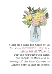 Moms Hug - Mothers Day Card