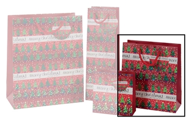Tree Collection Medium Gift Bags Christmas