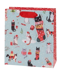 Christmas Kittens Medium Bag Christmas