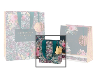 Tea Floral Small Gift Bags