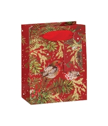 Christmas Robins Small Bag Christmas