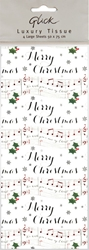 6 Packs Musical - Christmas Tissue Paper Christmas