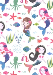 Mermaids - Sheet Gift Wrap Any Occasion