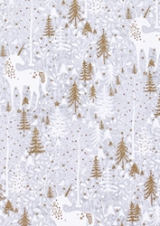Unicorn Forest - Sheet Gift Wrap Christmas