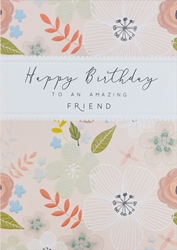 Friend - Birthday Card