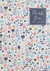 Flowers - Thank You Card