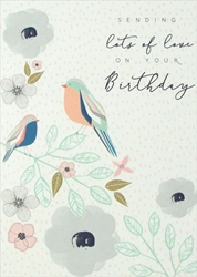 Lots Love - Birthday Card