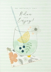 Relax & Enjoy - Mothers Day Card