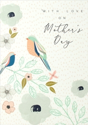 Birds - Mothers Day Card