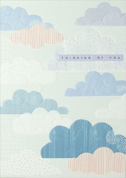 Clouds - Friendship Card