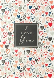 Hearts - Love Card