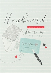 Husband - Love Card