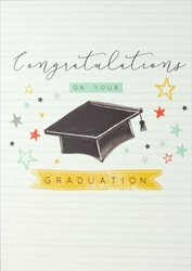 Cap - Graduation Card