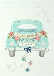 Mr & Mrs Card - Wedding Card
