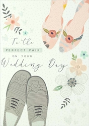 Perfect Pair - Wedding Card