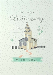 Church - Christening Card