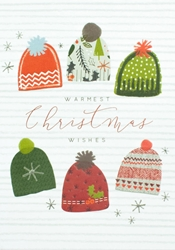 Knit Hats - Christmas Card